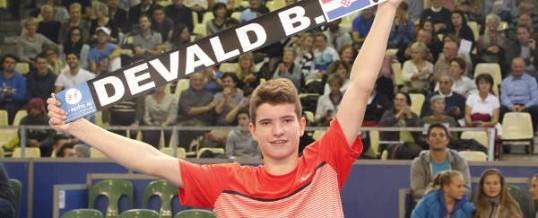 RETENEZ BIEN SON NOM : BORNA DEVALD, DÉJÀ GRAND CHAMPION DE TENNIS !