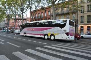 Le bus sur le boulevard Carnot