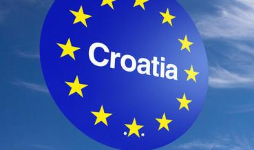 1ER JUILLET 2013 : ENTRÉE DE LA CROATIE DANS L'UNION EUROPÉENNE