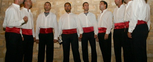 UNE TRADITION MUSICALE CROATE : LA KLAPA
