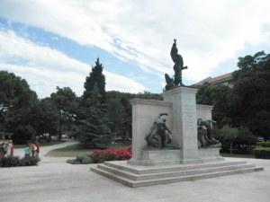 Le monument de Radaus à Pula