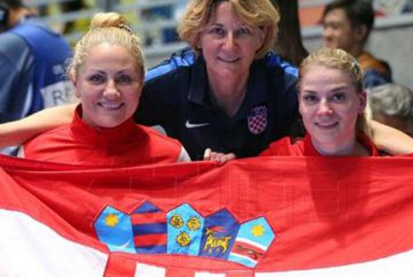 Anđela MUŽINIĆ et Helena DRETAR KARIĆ médaille d'argent en tennis de tzable double