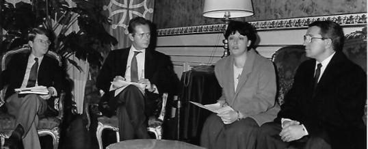 10 JANVIER 1992 : VERS LA RECONNAISSANCE INTERNATIONALE DE LA RÉPUBLIQUE DE CROATIE