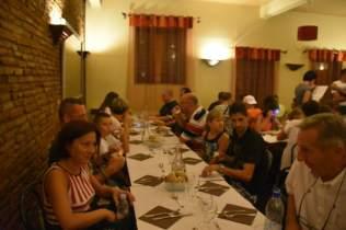 Le dîner au restaurant