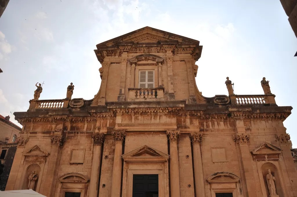 La cathédrale de Dubrovnik et Richard Coeur de Lion