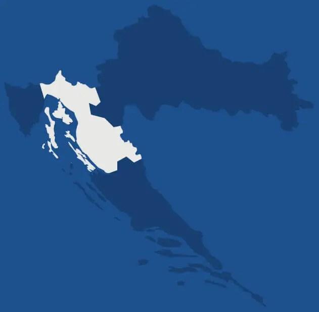 Kvarner, région de Croatie