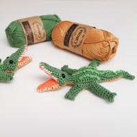How to Crochet an Alligator - Silas the Alligator