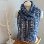 Ocean Kiss Summer Scarf from Crochet247