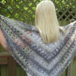 Ocean Kiss Summer Shawl Crochet Pattern from Crochet247