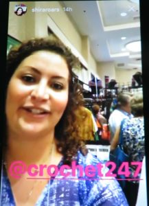 Instagram Stories with Shira Blumenthal CGOA Conference Crochet247