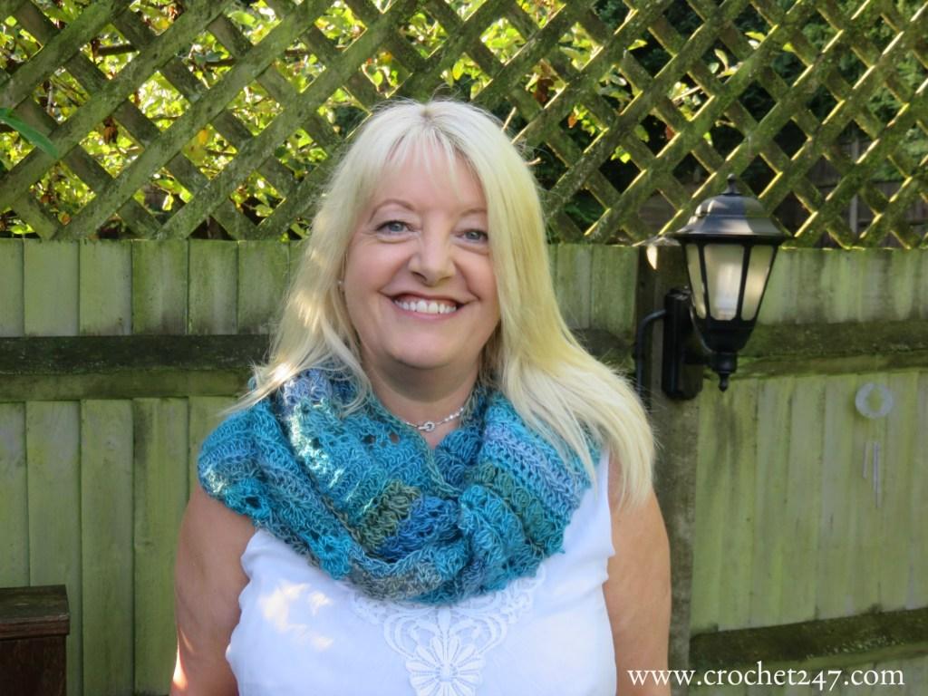Unforgettable Hazel Cowl - Crochet 24/7