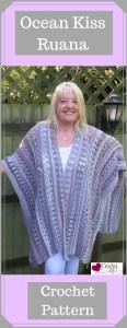 Ocean Kiss Ruana Crochet Pattern from Crochet247