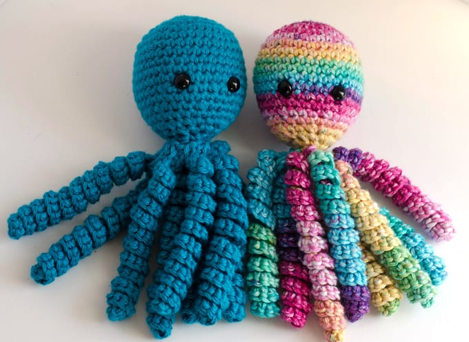Octopus Knitting Chart : Crochet an octopus for preemies knit too