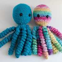 Crochet Octopus For Preemies