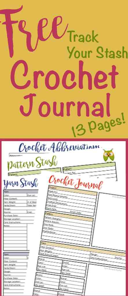 Free Crochet Journal
