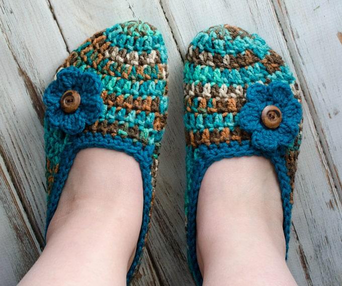 Not your Grandma's Crochet Slipper Pattern