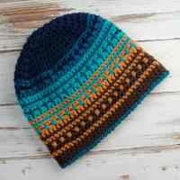 Crochet Big Bay Beanie