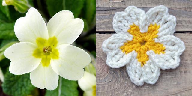 Free Crochet Flower Pattern Day 2 Primrose Crochet Arcade