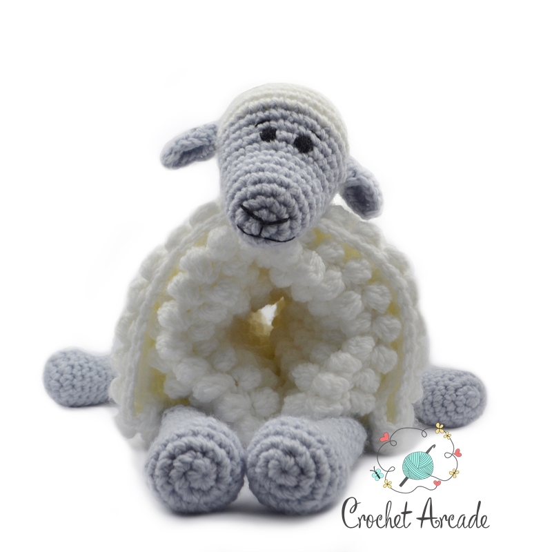 Cuddle And Play Sheep Baby Blanket Crochet Pattern Crochet Arcade