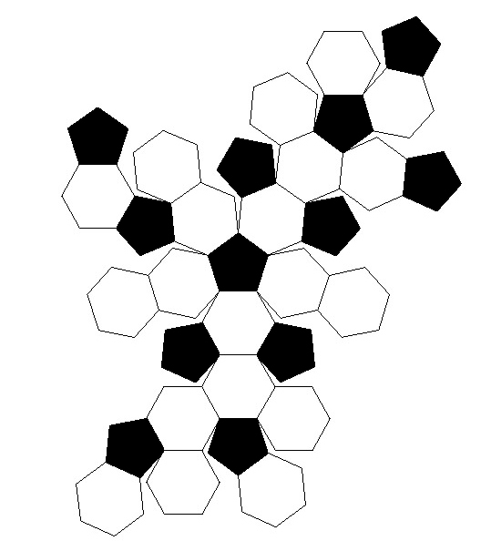 Piecing together the soccer ball - Crochetbug