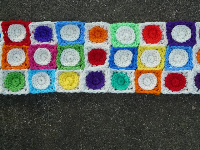crochet squares crochet circles hilbert curve