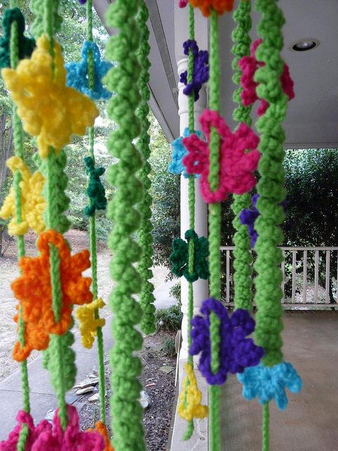 Crochet curlicues crochet flowers