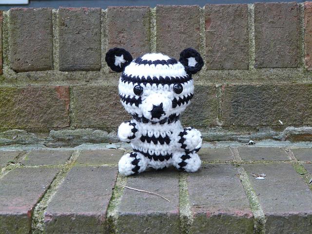 Pete The Amigurumi White Tiger Crochetbug