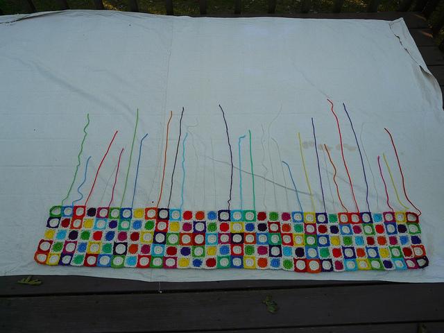 crochet squares, crochet circles, crochetbug, hilbert curve, crochet hilbert curve, crochet blanket, textured crochet throw, textured crochet afghan
