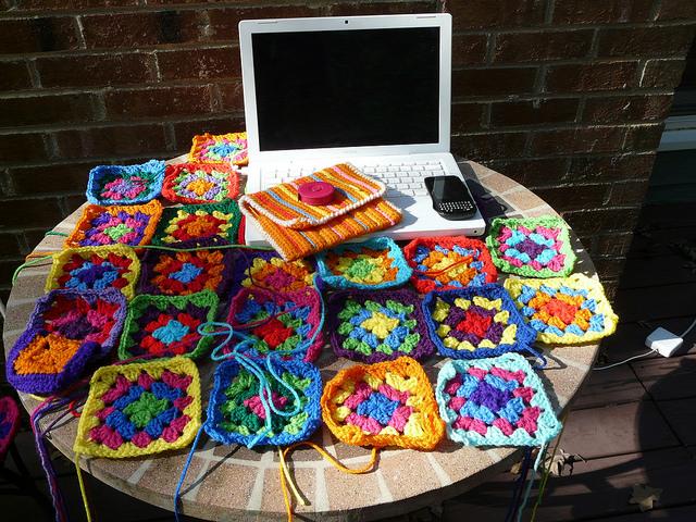 crochetbug, crochet squares, granny squares, crochet granny squares, crochet granny square dress