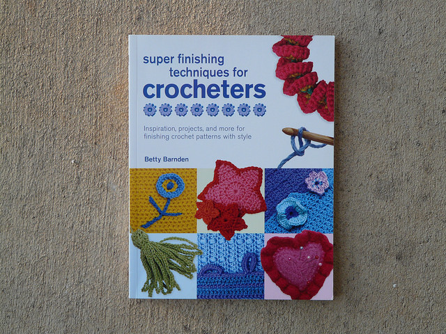 finishing techniques crochet book