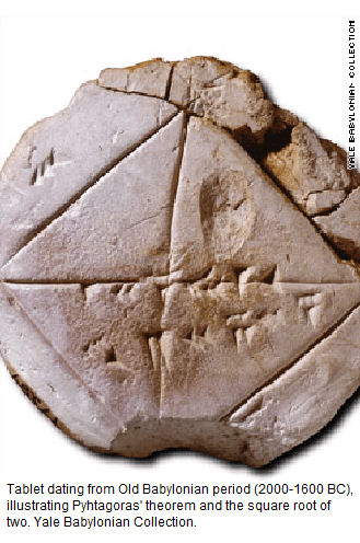 Babylonian clay tablet