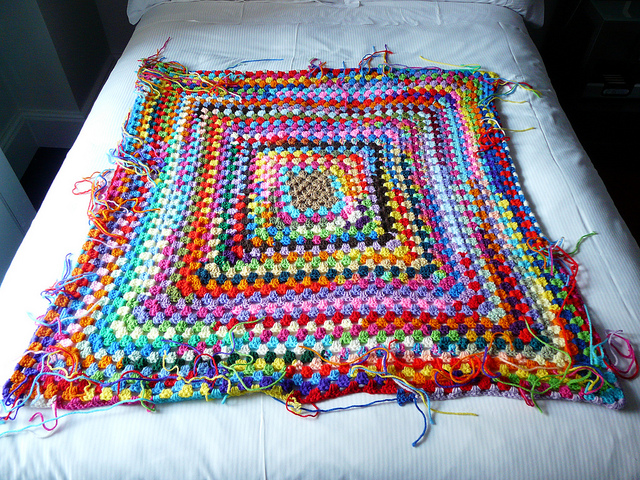 great crochet granny square