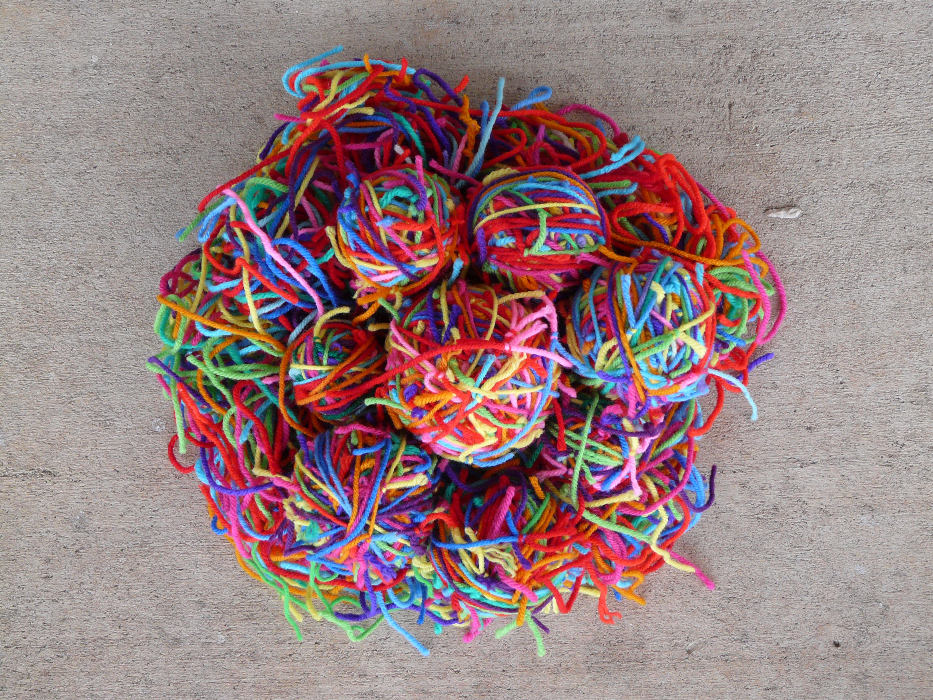 Image result for knotted ball of yarn photo