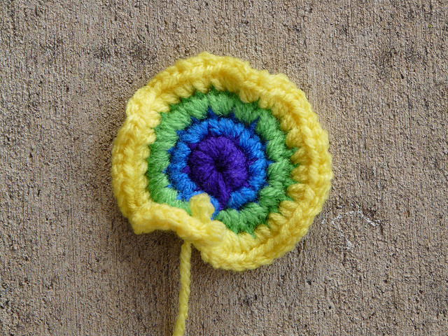 crochet hyperbolic plane tawashi