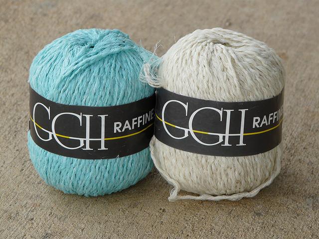 yarn purchased on sale