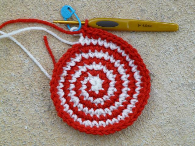 cochet spiral crochet circle