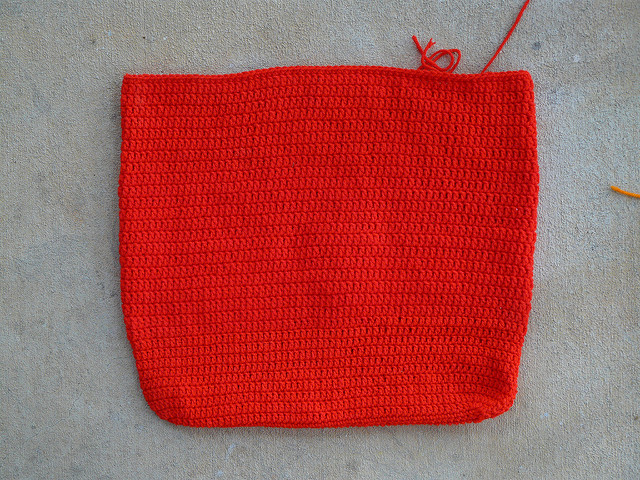 crochet purse body