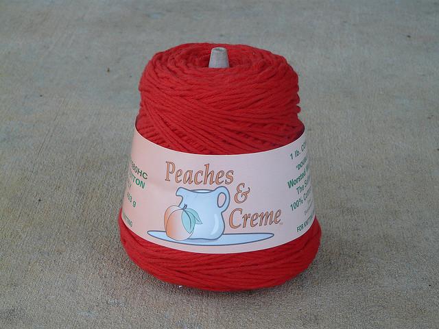 crochetbug, crochet, double worsted weight cotton yarn, yarn stash