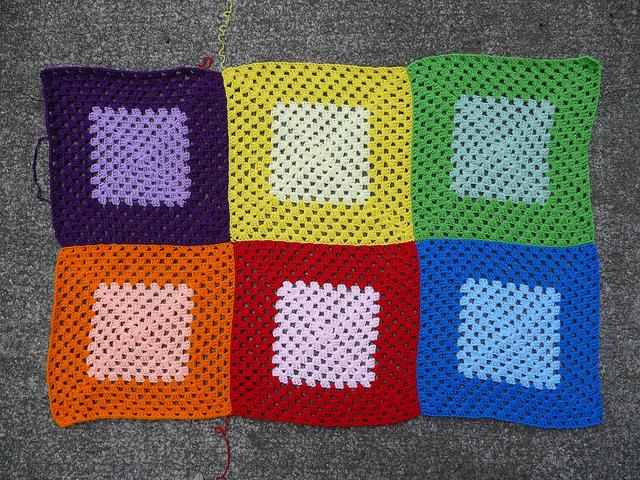crochetbug, crochet square, crochet granny square, granny square blanket, granny square afghan, crochet afghan, crochet blanket