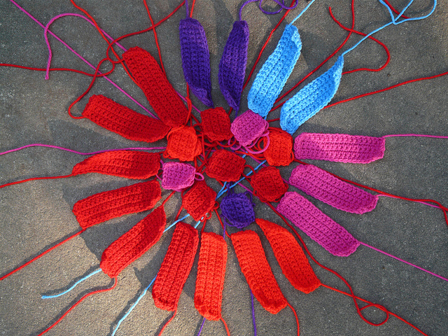 crochet rectangles crochet squares