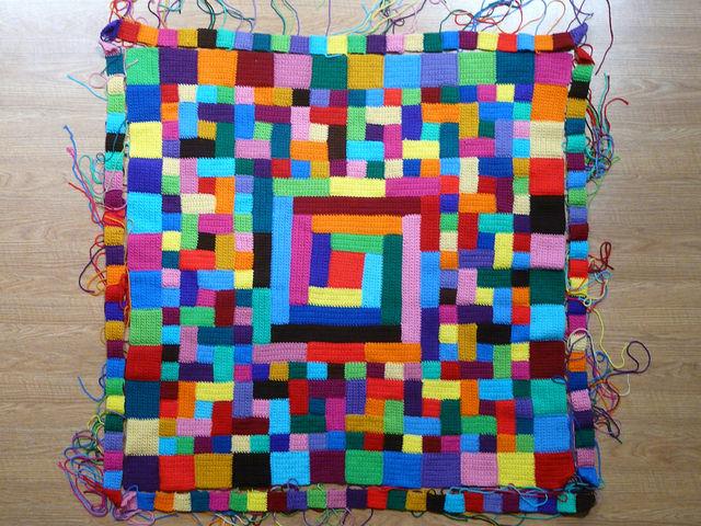 quilt crochet blanket