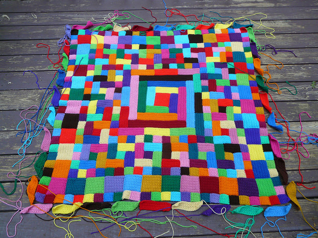 crochet rectangles and crochet squares