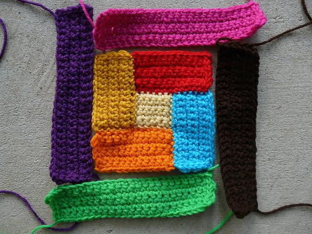 quilt crochet motif iv