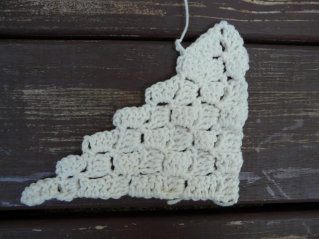 diagonal crochet box stitch c2c
