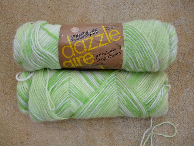caron dazzle aire vintage yarn