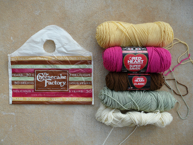 cheesecake factory color yarns