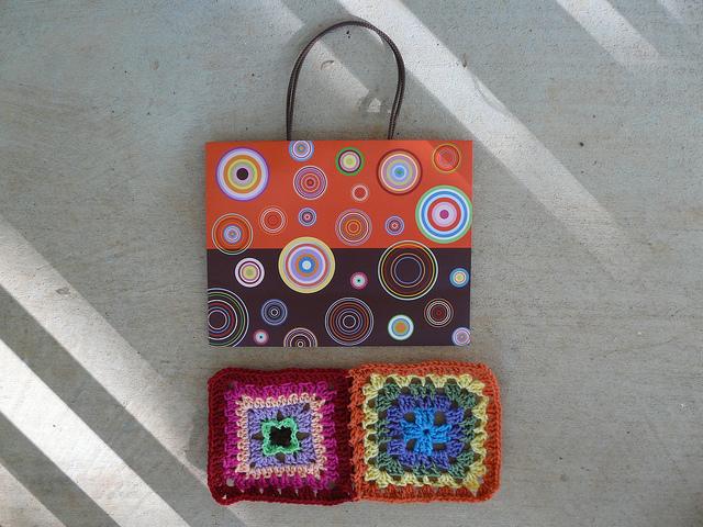 color inspiration for crochet squares