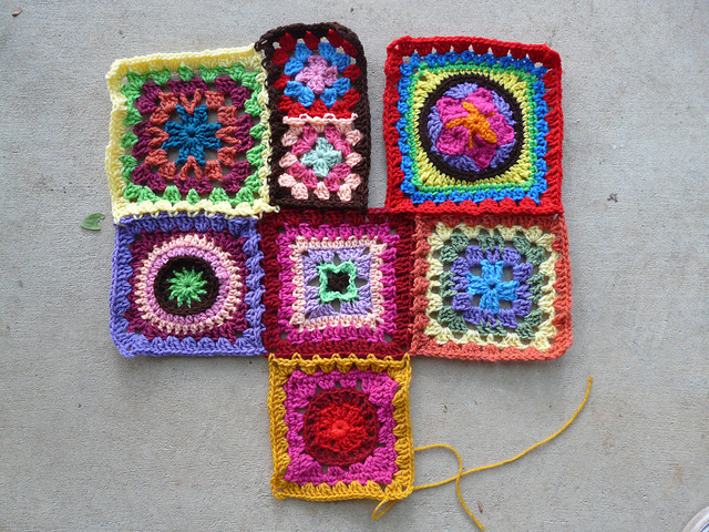 future crochet beach blanket