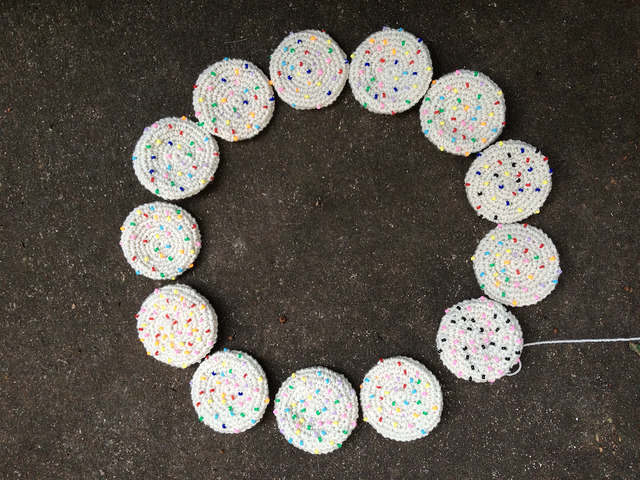 thirteen crochet cookies