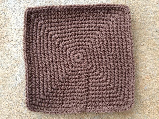 crochet square